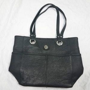 Giani Bernini Black Leather Purse Bag Shoulder Bag